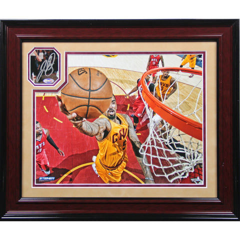 J.R. Smith 2015 Cleveland Cavaliers Signed 13x16 Playoff Shot Collage - Steiner Sports - Dropship Direct Wholesale
