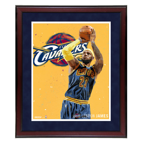 Lebron James Digital Painting 16x20 Photo - Steiner Sports - Dropship Direct Wholesale