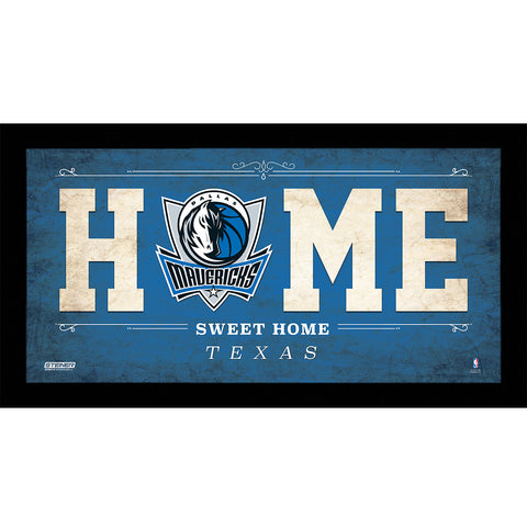 Dallas Mavericks 6x12 Home Sweet Home Sign - Steiner Sports - Dropship Direct Wholesale