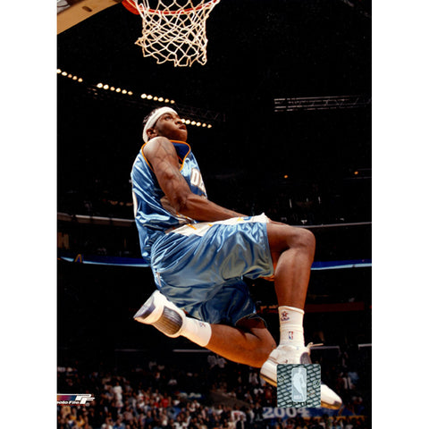 Carmelo Anthony Nuggets Action in Air Reverse Dunk 8x10 (PF) - Steiner Sports - Dropship Direct Wholesale
