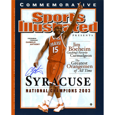 Carmelo Anthony Syracuse National Champions Sports Illustrated Cover 16x20 - Steiner Sports - Dropship Direct Wholesale