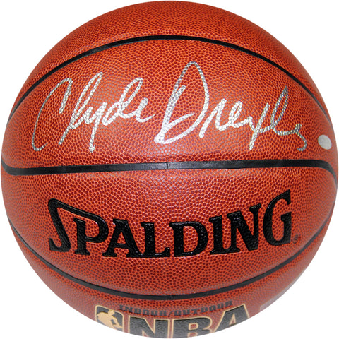 Clyde Drexler Signed NBA ZiO Basketball - Steiner Sports - Dropship Direct Wholesale