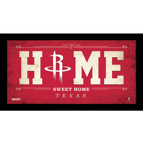 Houston Rockets 6x12 Home Sweet Home Sign - Steiner Sports - Dropship Direct Wholesale