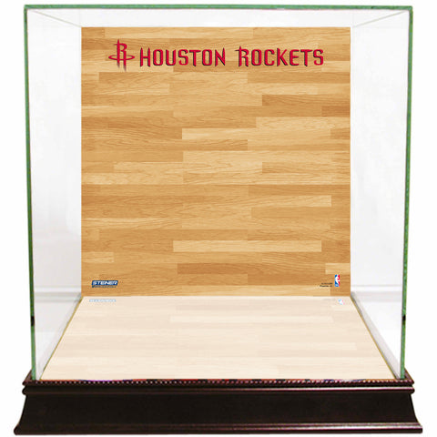 Houston Rockets Basketball Court Background Case - Steiner Sports - Dropship Direct Wholesale