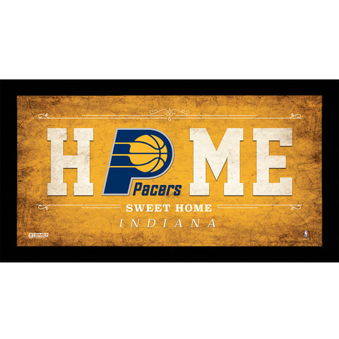 Indiana Pacers 6x12 Home Sweet Home Sign - Steiner Sports - Dropship Direct Wholesale