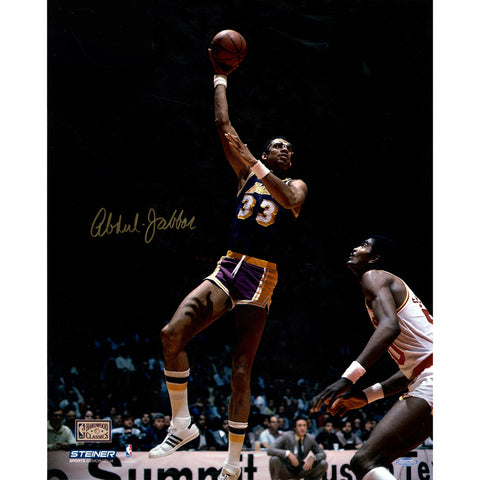 Kareem Abdul Jabbar Autographed 16x20 Photo (Getty 1478988) - Steiner Sports - Dropship Direct Wholesale