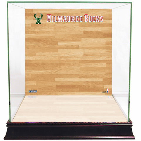 Milwaukee Bucks Basketball Court Background Case - Steiner Sports - Dropship Direct Wholesale