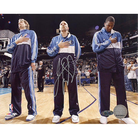 Jason Kidd First Game Back with Mavericks National Anthem 8x10 Photo - Steiner Sports - Dropship Direct Wholesale