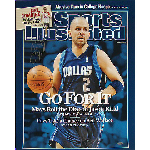 Jason Kidd Mavericks Go For It Sports Illustrated Cover 16x20 Photo - Steiner Sports - Dropship Direct Wholesale