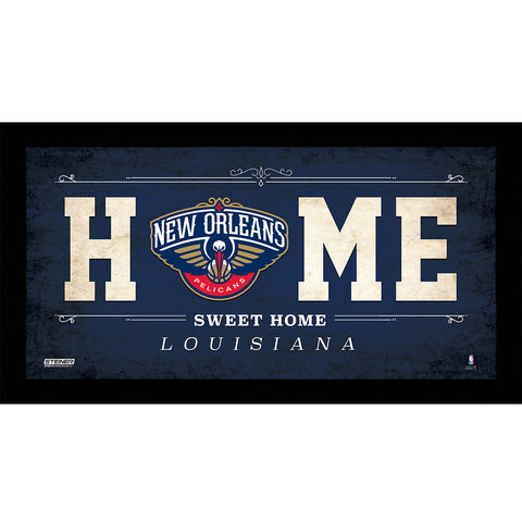 New Orleans Pelicans 10x20 Home Sweet Home Sign - Steiner Sports - Dropship Direct Wholesale