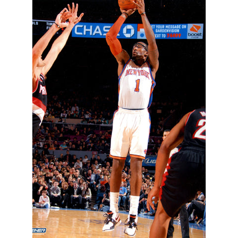 Amare Stoudemire knicks Jump Shot 8x10 Photo (Getty 106382491)- - Steiner Sports - Dropship Direct Wholesale