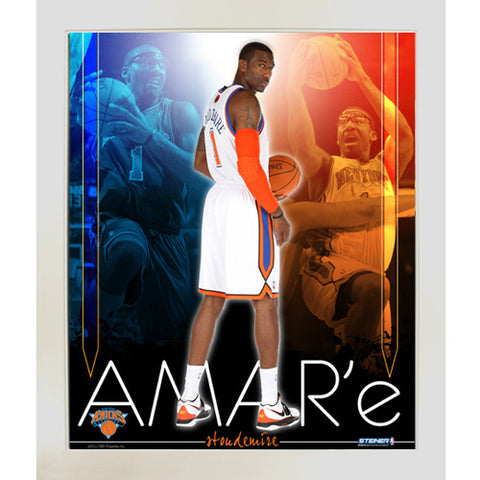 Amare Stoudemire knicks Team Colors Composite Framed 11x14 Collage - Steiner Sports - Dropship Direct Wholesale