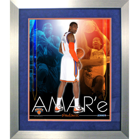 Amare Stoudemire knicks Team Colors Composite Framed 16x20 Collage - Steiner Sports - Dropship Direct Wholesale