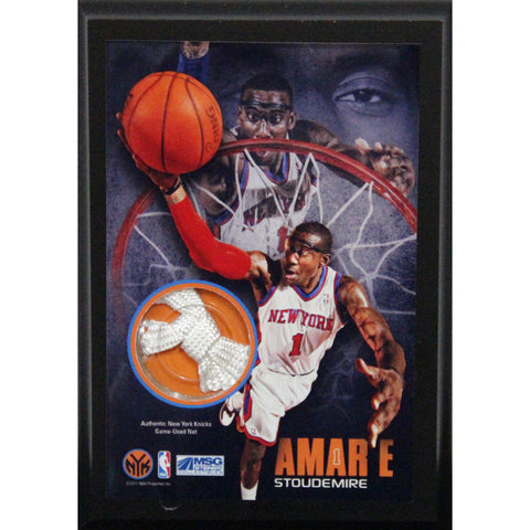 Amare Stoudemire New York Knicks 4x6 Net Plaque - Steiner Sports - Dropship Direct Wholesale