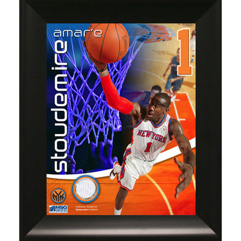 Amare Stoudemire New York Knicks Game Used Pants 11x14 Framed Collage - Steiner Sports - Dropship Direct Wholesale