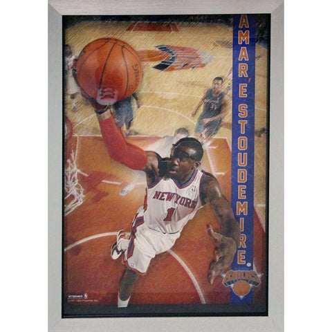 Amare Stoudemire Pop Out Framed 20x32 Collage - Steiner Sports - Dropship Direct Wholesale