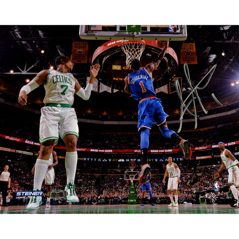 Amare Stoudemire Signed Reverse Dunk Against Boston 8x10 Photo - Steiner Sports - Dropship Direct Wholesale