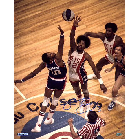 Julius Erving New Jersey Nets Tip-off Signed 16x20 Photo - Steiner Sports - Dropship Direct Wholesale