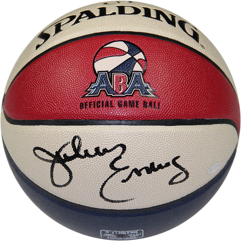 Julius Erving Signed ABA Basketball - Steiner Sports - Dropship Direct Wholesale