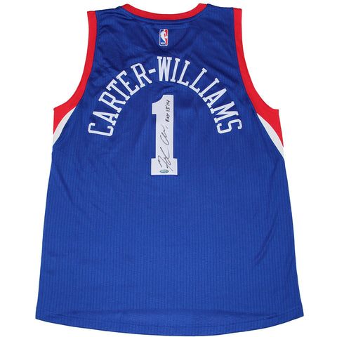 Michael Carter-Williams Signed 76ers Royal Swingman Jersey w ROYInsc. - Steiner Sports - Dropship Direct Wholesale