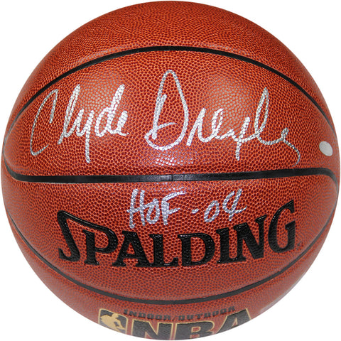 Clyde Drexler Signed NBA Basketball W HOF 2004 Insc. - Steiner Sports - Dropship Direct Wholesale