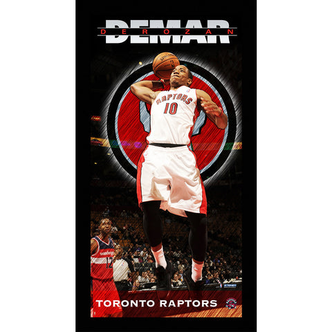 DeMar DeRozan Toronto Raptors Player Profile Wall Art 9.5x19 Framed Photo - Steiner Sports - Dropship Direct Wholesale