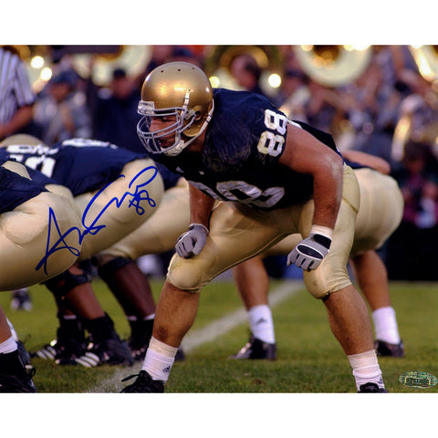Anthony Fasano Notre Dame At Line of Scrimage Horizontal 8x10 Photo - Steiner Sports - Dropship Direct Wholesale