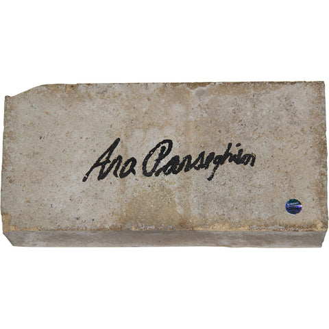 Ara Parseghian Signed Notre Dame Brick - Steiner Sports - Dropship Direct Wholesale