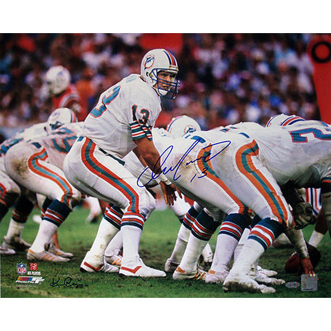 Dan Marino Miami Dolphins Home Jersey At The Line Of Scrimmage Horizontal 16x20 Photo (Signed by Ken Regan) - Steiner Sports - Dropship Direct Wholesale
