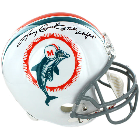Larry Csonka Miami Dolphins 1972 Model Authentic Helmet w Still Undefeated Insc - Steiner Sports - Dropship Direct Wholesale