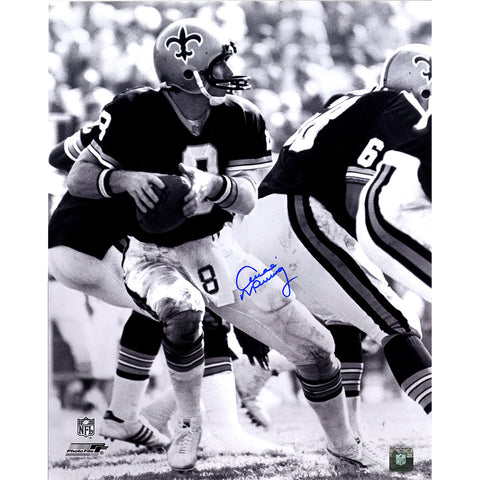 Archie Manning Signed New Orleans Saints BW 16x20 photo - Steiner Sports - Dropship Direct Wholesale