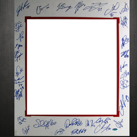 2007 New York Giants Team Signed 16x20 Matte (for Fazzino pieces) - Steiner Sports - Dropship Direct Wholesale