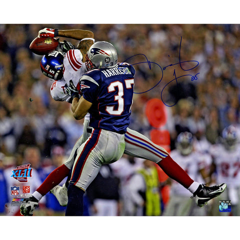 David Tyree Signed SuperBowl XLII Catch Against Patriots Horizontal 16x20 Photo - Steiner Sports - Dropship Direct Wholesale