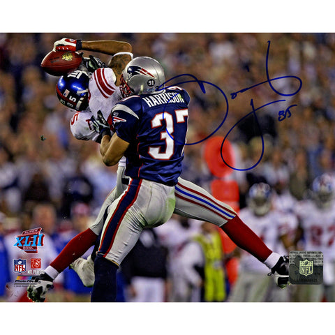 David Tyree Signed SuperBowl XLII Catch Against Patriots Horizontal 8x10 Photo - Steiner Sports - Dropship Direct Wholesale