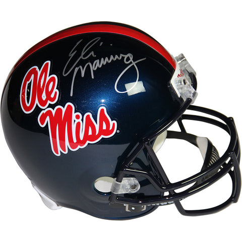 Eli Manning Signed Ole Miss Replica Full Size Helmet - Steiner Sports - Dropship Direct Wholesale