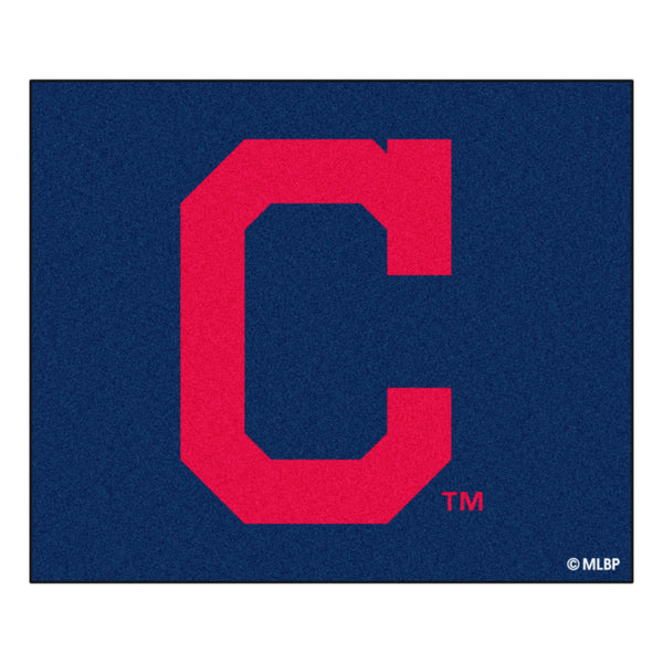 Cleveland Indians Block-C Tailgater Rug 5x6 - FANMATS - Dropship Direct Wholesale