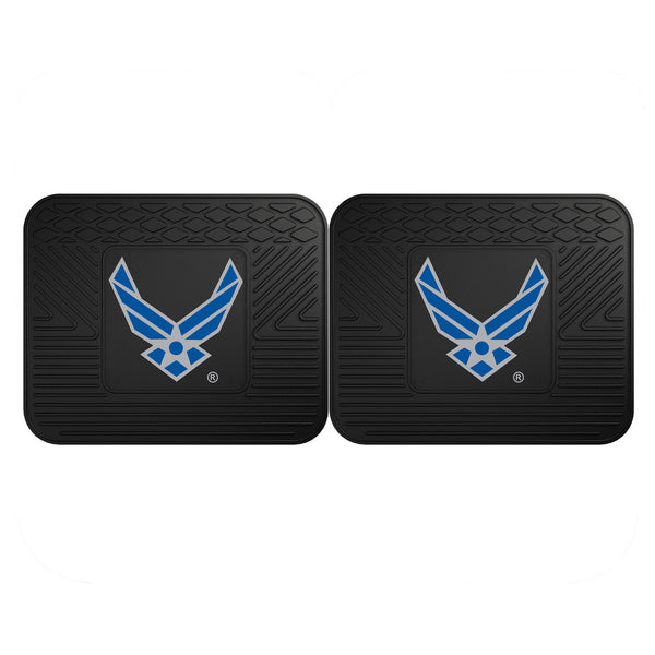 Air Force Licensed Backseat Utility Mat 2 Pack 14x17 - FANMATS - Dropship Direct Wholesale