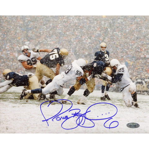 Jerome Bettis Being Tackled In Snow vs. Penn State 8x10 Photo - Steiner Sports - Dropship Direct Wholesale