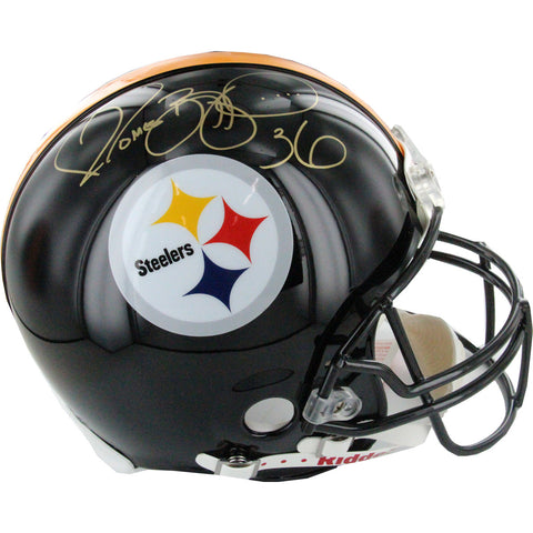 Jerome Bettis Pittsburgh Steelers Signed Full Size Replica Helmet (AJ Sports Auth) - Steiner Sports - Dropship Direct Wholesale