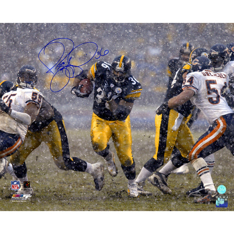 Jerome Bettis Pittsburgh Steelers Signed Rushing in Snow 16x20 Photo (AJ Sports Auth) - Steiner Sports - Dropship Direct Wholesale