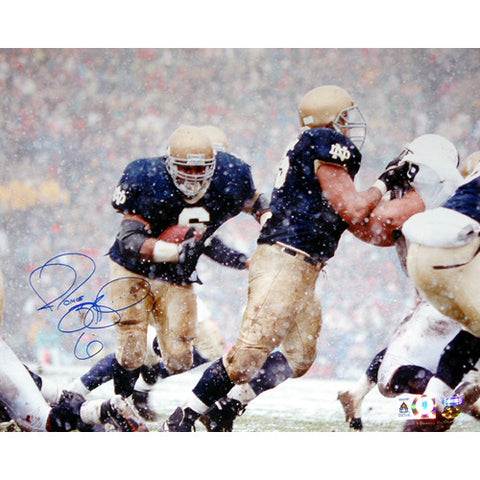 Jerome Bettis vs. Penn State in Snow 16x20 Photo - Steiner Sports - Dropship Direct Wholesale