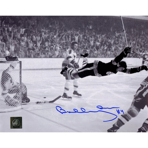 Bobby Orr Boston Bruins Signed Stanley Cup Flying Goal 8x10 Photo: GNR COA - Steiner Sports - Dropship Direct Wholesale