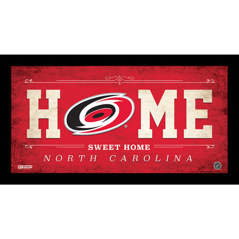 Carolina Hurricanes 6x12 Home Sweet Home Sign - Steiner Sports - Dropship Direct Wholesale