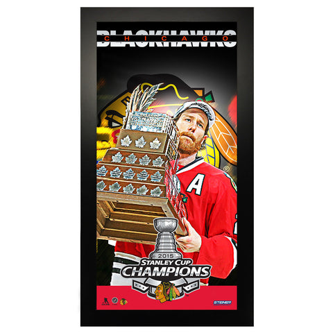 Chicago Blackhawks Conn Smythe Winner 10x20 Framed Collage - Steiner Sports - Dropship Direct Wholesale