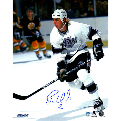 Bernie Nicholls Signed LA Kings 8x10 Photo - Steiner Sports - Dropship Direct Wholesale