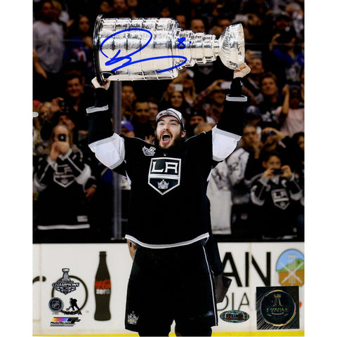 Drew Doughty Signed Los Angeles Kings 2014 Stanley Cup Overheard 8x10 Photo - Steiner Sports - Dropship Direct Wholesale