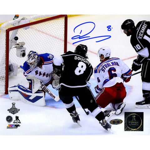 Drew Doughty Signed Los Angeles Kings 2014 Stanley Cup Scoring Goal 8x10 Photo - Steiner Sports - Dropship Direct Wholesale