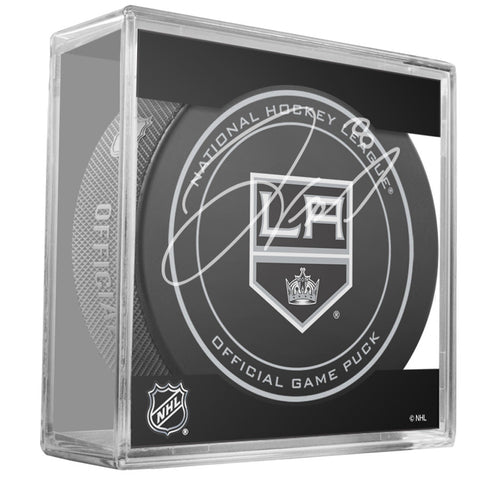 Drew Doughty Signed Los Angeles Kings Game Model Puck (Signed In Gold) - Steiner Sports - Dropship Direct Wholesale