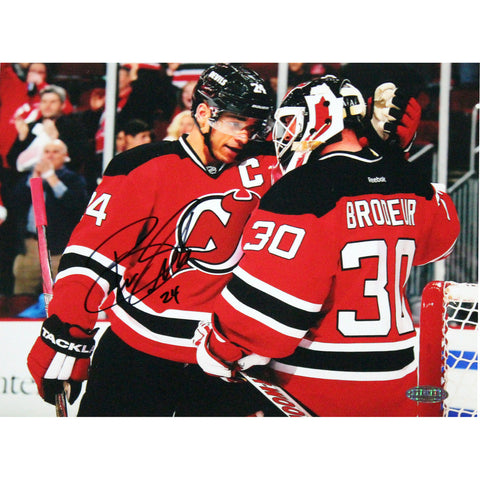 Bryce Salvador Signed New Jersey Devils 8x10 Photo with Martin Brodeur - Steiner Sports - Dropship Direct Wholesale