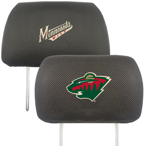 Minnesota Wild Head Rest Cover 10x13 - FANMATS - Dropship Direct Wholesale